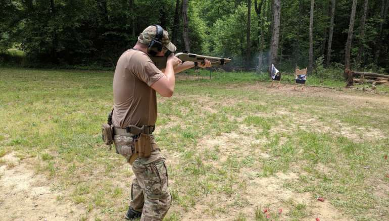 South Carolina shotgun class course home defense defensive class course