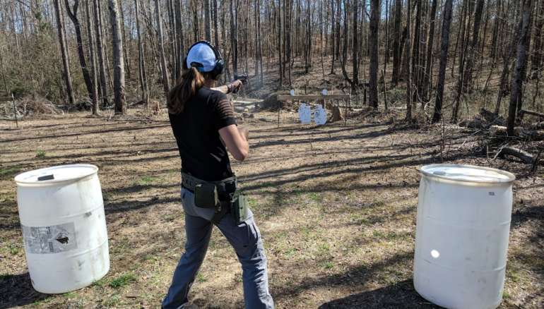South Carolina pistol handgun training class course defensive tactical advanced intermediate conceal carry active shooter