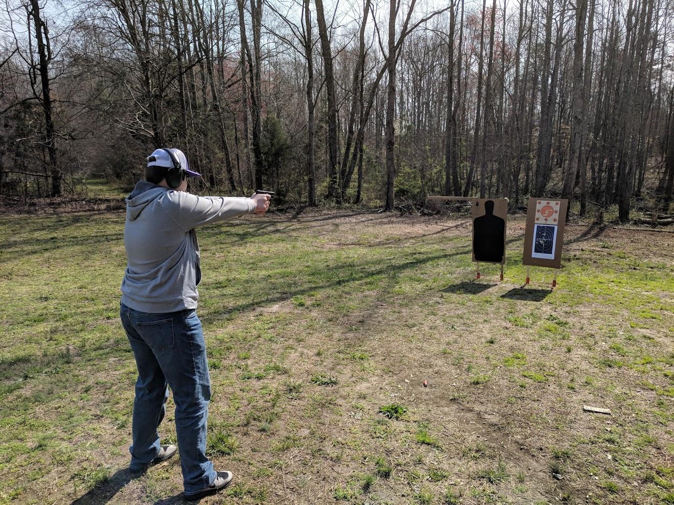 Firearms Exercise – Pistol