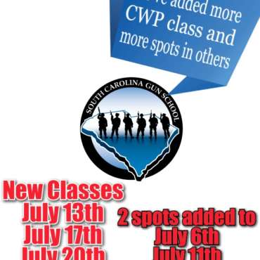 New CWP Classes for July 2020